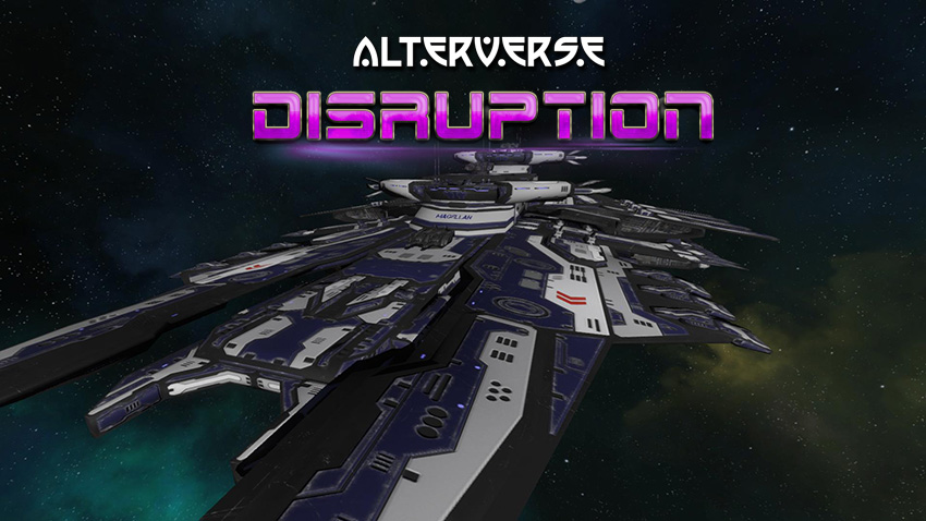 A space-worthy craft was built to enter the portal. They called it a Disrupter Ship.
