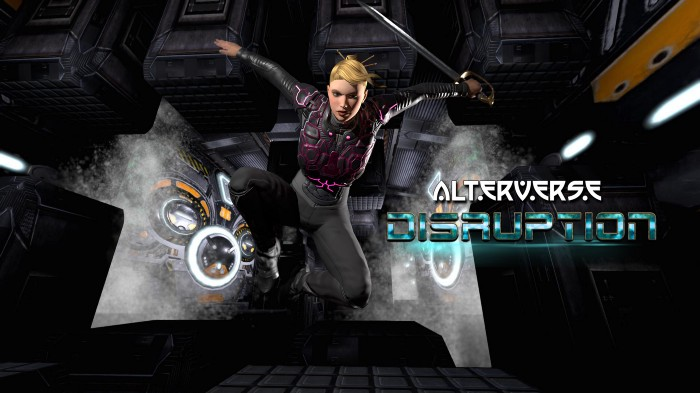 AlterVerse Female Jumping